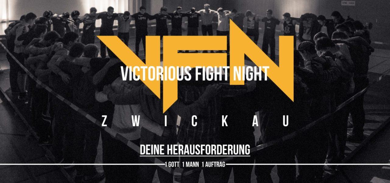 Victorious Fight Night | Stadtlicht - Kirche für Zwickau
